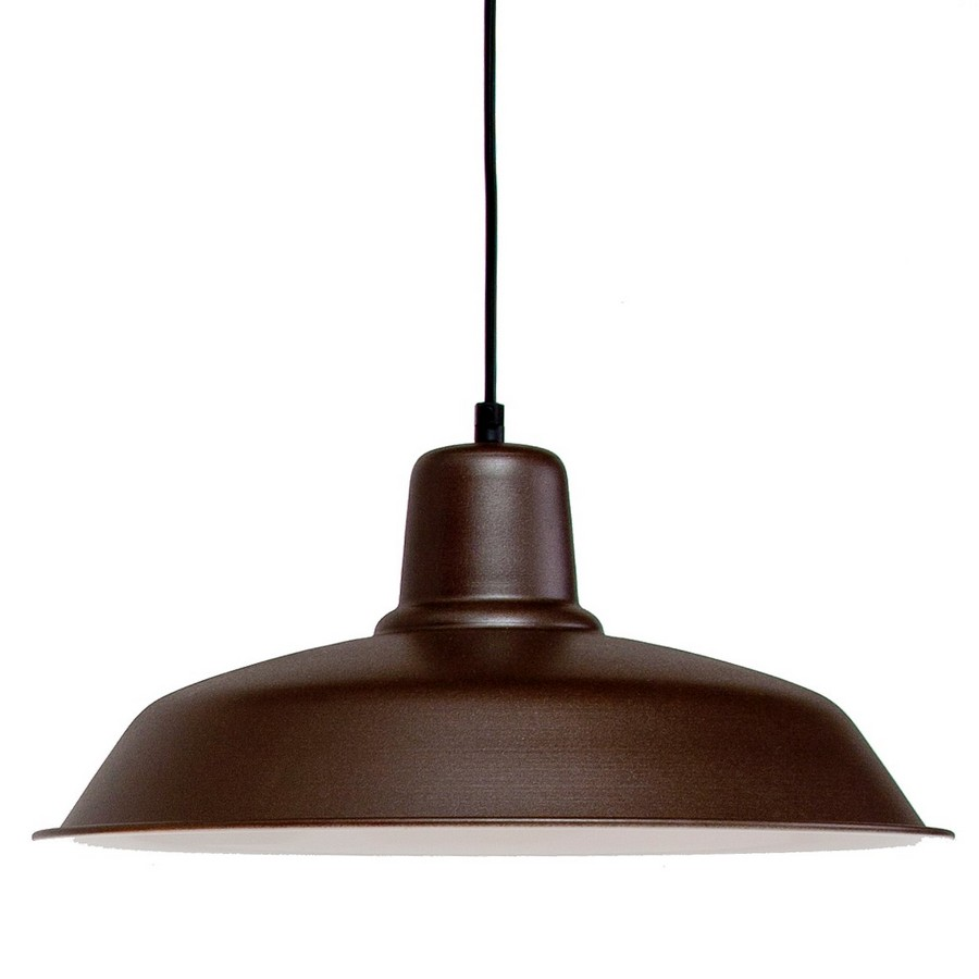 SMALL OXIDE SOHO CEILING LAMP